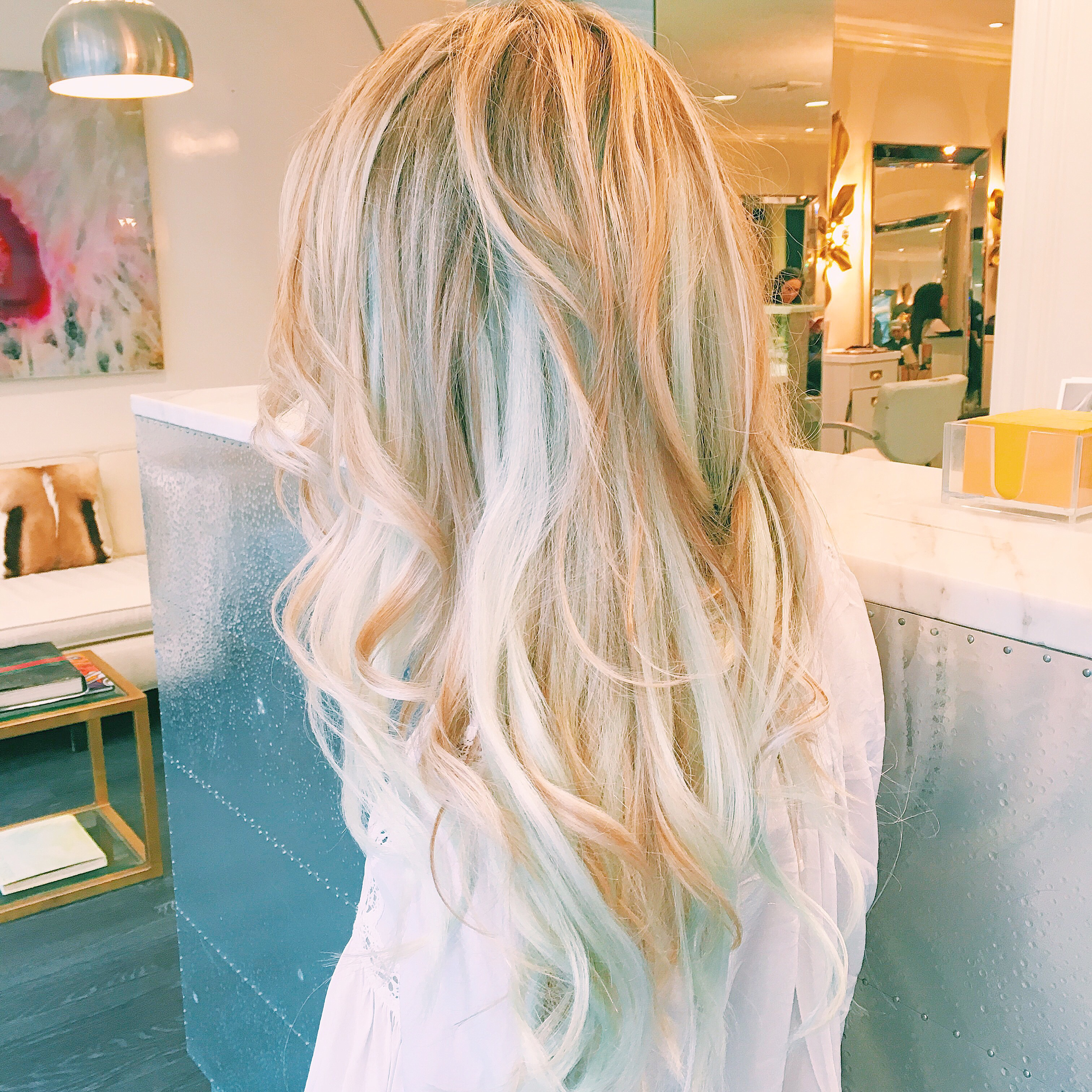 Mermaid Hair With Zotos Professional Blondeonearth