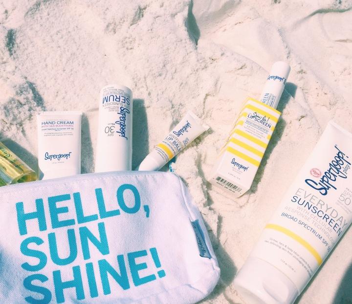 Sun Care with Super Goop