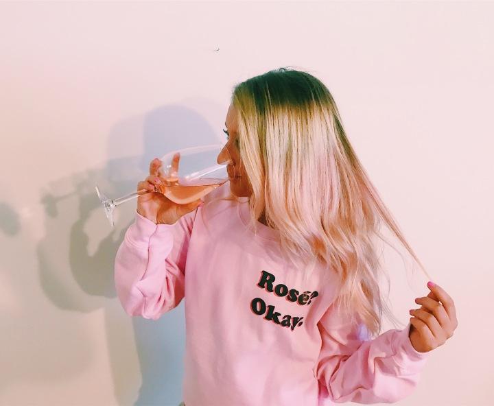 Rosé. Okay.